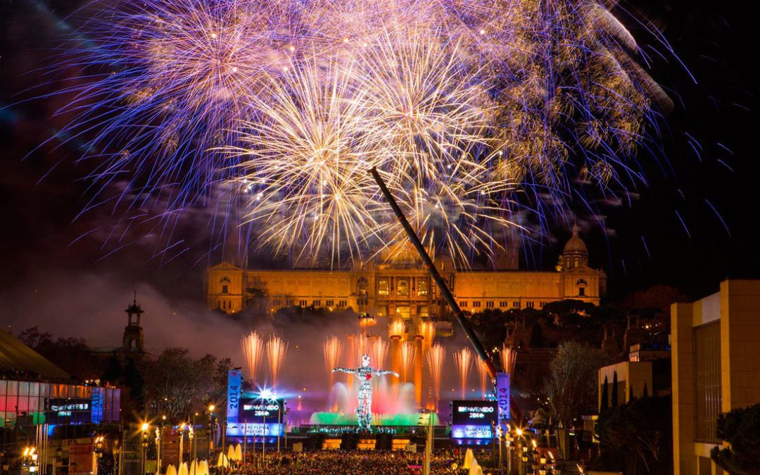 New year in Barcelona